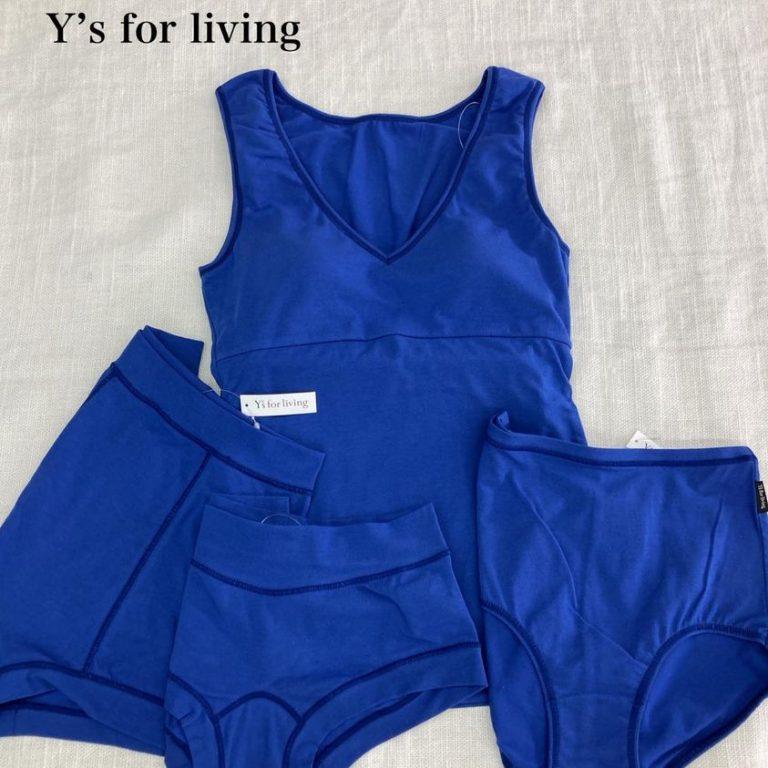 【Y's for living】新色 ブルーの取扱を開始!
